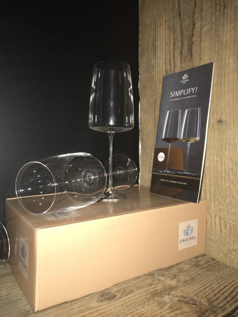 Simplify leicht & frisch Weinglas Sömmerring Weinbar Frankfurt