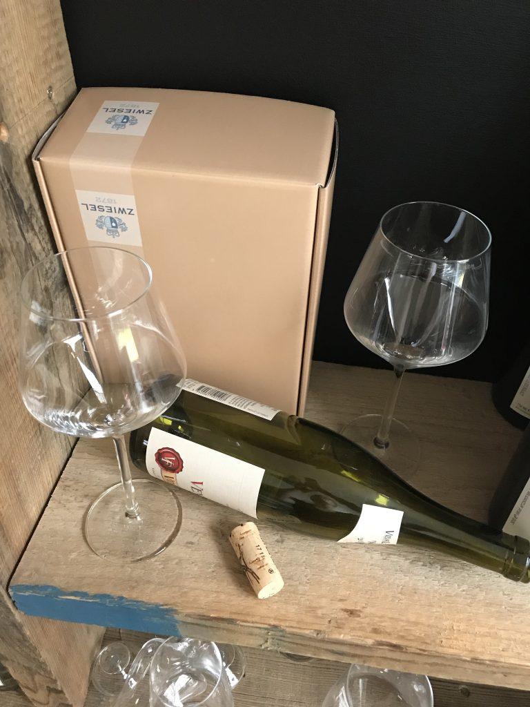 Pure Beaujolais Weinglas Sömmerring Weinbar Frankfurt