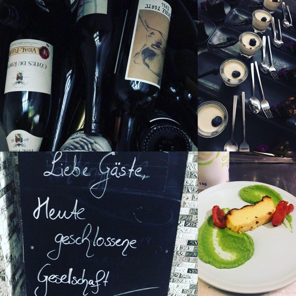 Wein & Essen im Sömmerring Weinbar Frankfurt