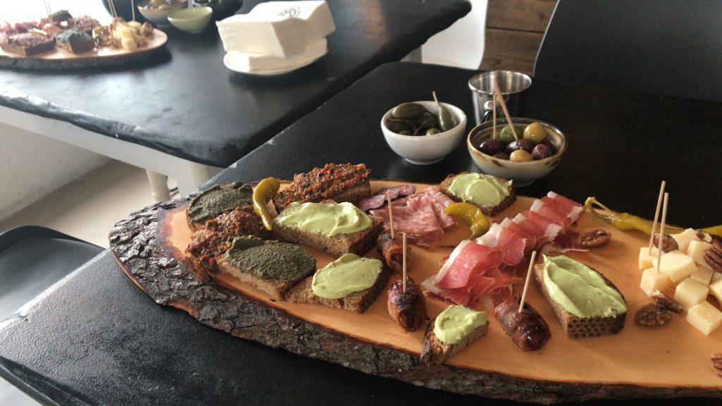 Snackteller Sömmerring Weinbar Frankfurt